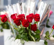 Розы и тюльпаны к 14 февраля