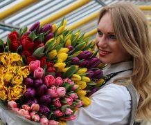 35 тыс. цветов к 8 Марта